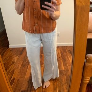 Theory linen pants